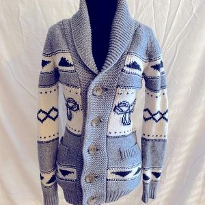 Sea to sky TNA Wool button up sweater